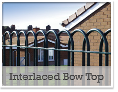 Interlaced Bow Top Railings