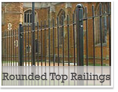 Rounded Top Railings