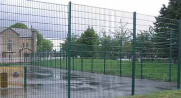 Sports Bronze Mesh Fence